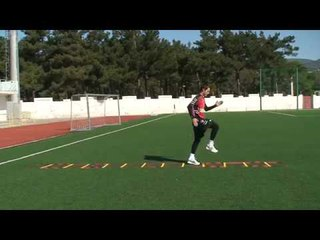 Football coaching video - soccer drill - ladder coordination (Brazil) 17