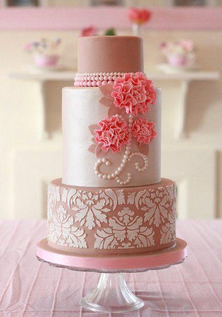 3lw0xujJfys - Нежно-очаровательные свадебные торты