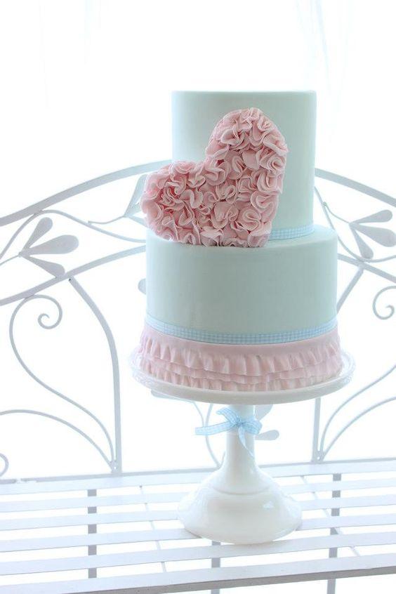 iE8eqsBT1JE - Нежно-очаровательные свадебные торты