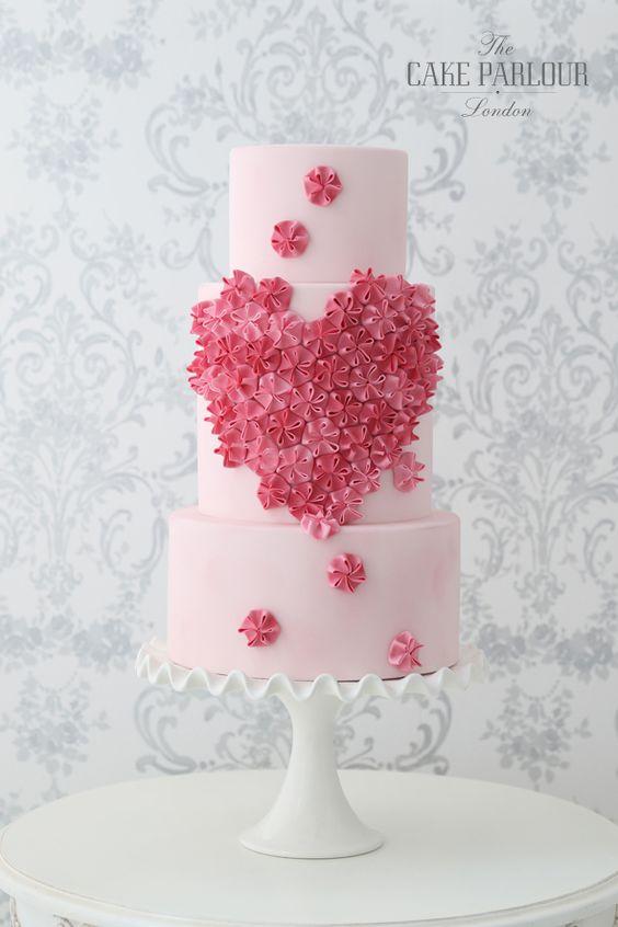DRL0vrxvagQ - Нежно-очаровательные свадебные торты