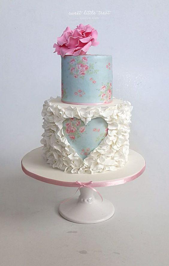 DBulSCnNqrI - Нежно-очаровательные свадебные торты
