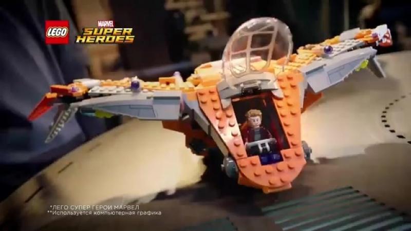 Вступайте в битву суперпостов и станьте одним из первых обладателей суперновинок LEGO MARVEL Super Heroes!
