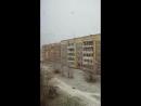 первый снег в Череповец