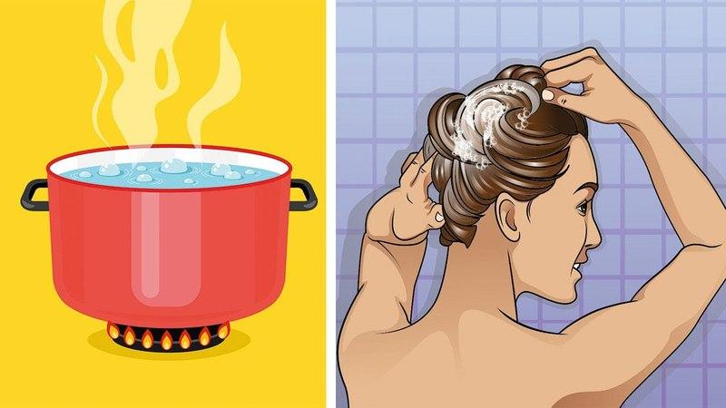 5 Möglichkeiten deine Haare auf natürliche Weise zu glätten!