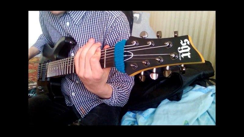 The Acacia Strain - Skynet(guitar cover)