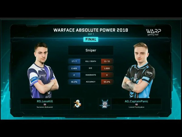 AG проиграли LAN финал турнира Абсолютная власть Warface AG vs Repulse