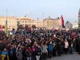 День Захисника України в Харкові. Мітинг перед Маршем Героїв. 14.10.2015