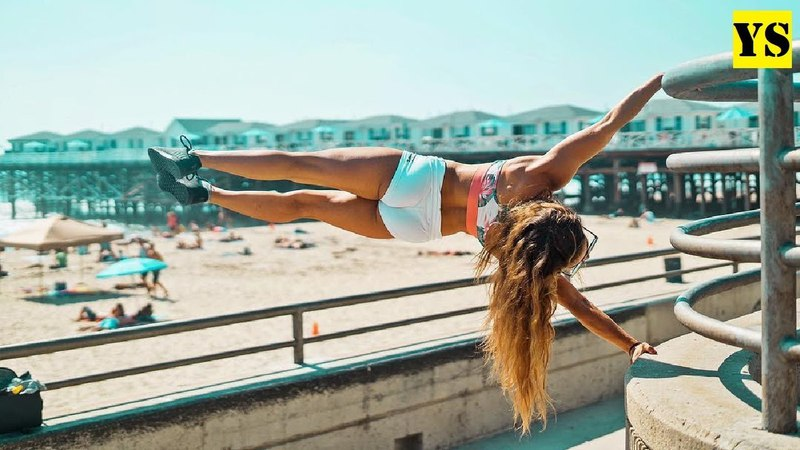 STREET WORKOUT Girl - Demi Bagby 16 Years Old | Yurich SPORT