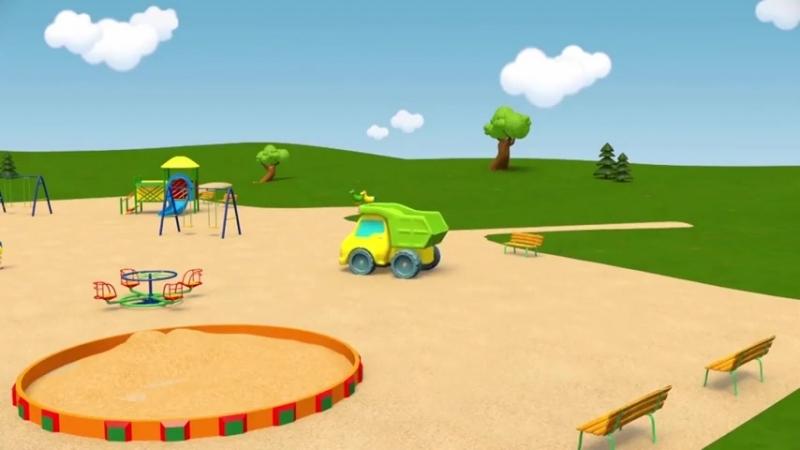 [v-s.mobi]Развивающие мультики про машинки - Синий Трактор Гоша - Все серии - Учимся считать, запоминаем цвета