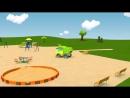 V-s.mobiРазвивающие мультики про машинки - Синий Трактор Гоша - Все серии - Учимся считать, запоминаем цвета