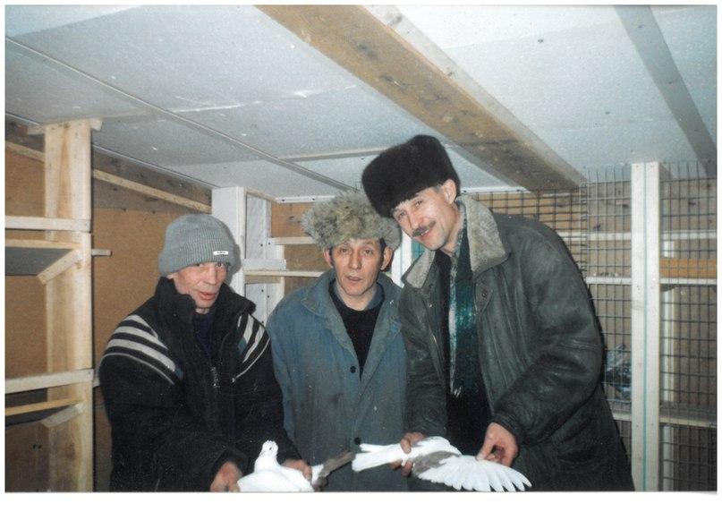 Крайний справа: С.А. Елисеев, по центру — В.А. Мерзляков. Фото из архива С.А. Елисеева