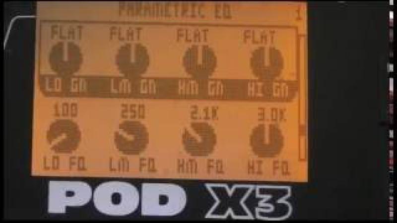 POD X3 Line6 Yngwie Tone by Panos