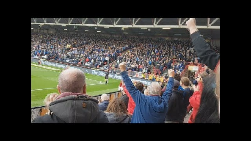 BRISTOL CITY VS CARDIFF CITY DERBY! Atmosphere and goals...