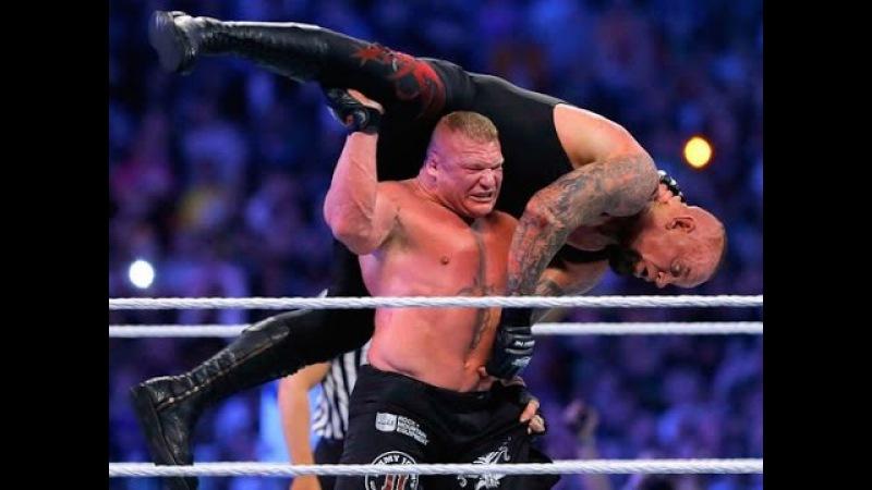 BROCK LESNAR VS UNDERTAKER WWE WRESTLEMANIA 30