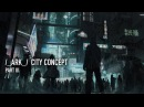 ARK City Concept Part III Digital Paint Over