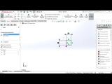 01 – 3D-моделирование в SolidWorks. Максим Донсков