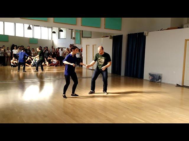 1st lesson boogie woogie Thomas Sophie (beginners)