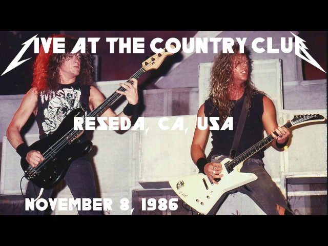 Metallica - Jason's First Show, Live in Reseda, CA, USA (1986) [SBD Audio Only]