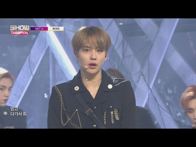 Show Champion EP.260 NCT U - BOSS [엔시티 유 - 보스 ]