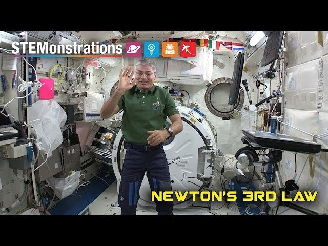 STEMonstrations: Newton's Third Law of Motion