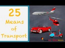 Learn German German for daily use 25 useful means of transport Verkehrsmittel