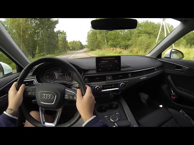 Audi A4 B9 Allroad Random POVs Driven Hard