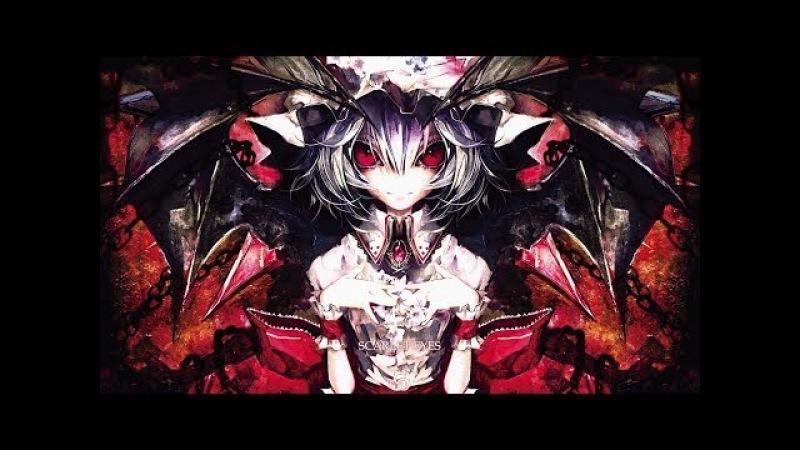 Аниме Клип Ужасы :Черные Птицы