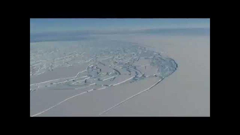 АНТАРКТИДА: Запретное видео | Для чего твари жидо-рептилоиды режут лёд 7520