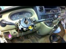 Renault Master замена шлейфа подушки безопасности