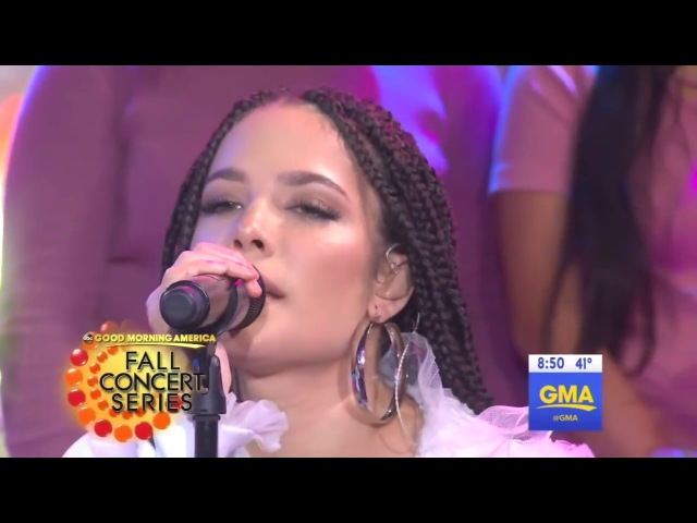 G Eazy Halsey Perform Him I (GMA LIVE)
