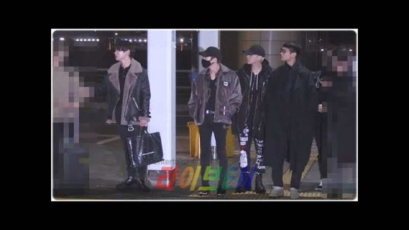 Liveen TV 샤이니 SHINee 아주 늦은 밤 오늘 마지막 승객입니다 인천공항