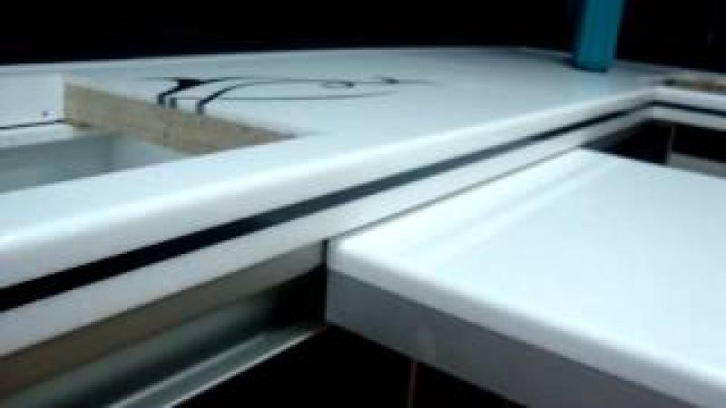 ★ Система скользящего стола для кухни!