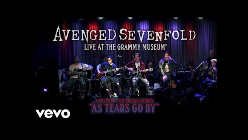 Avenged Sevenfold - As Tears Go By (Live At The GRAMMY Museum®)