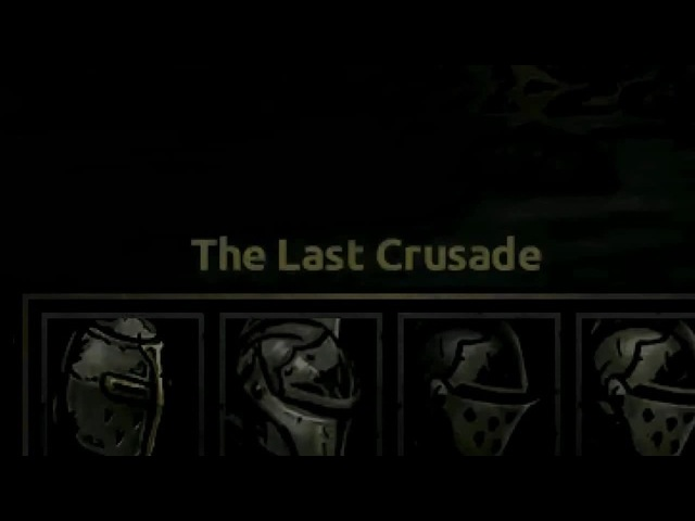 The last crusade!