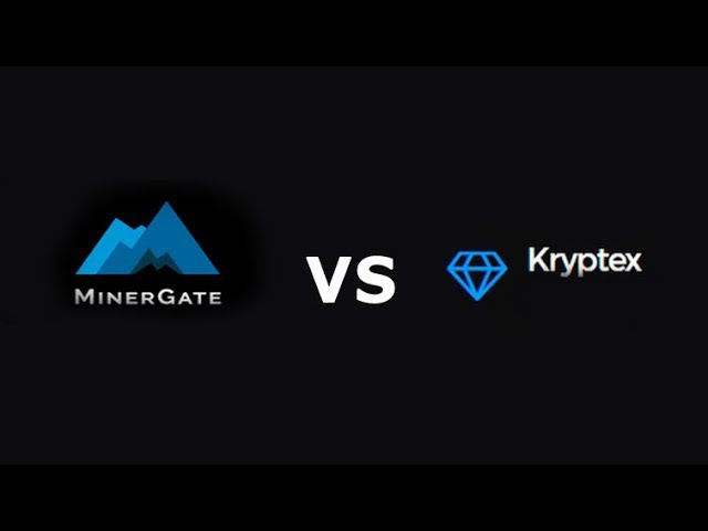 MinerGate VS Kryptex