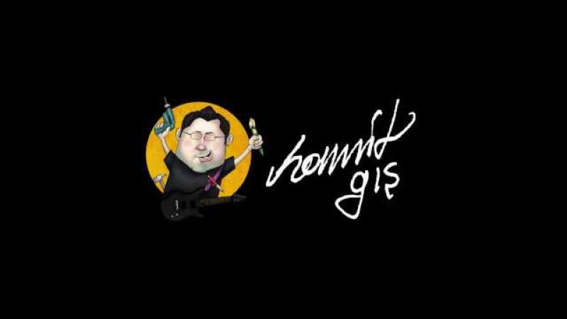 Karikatür çizimi ve Photoshopta boyama, adım adım, Circassian Cartoon