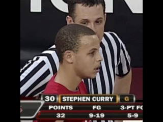 """I Love Stephen Curry on Instagram: """"@espn On this date in 2009, Steph Curry dropped 32 points in his last win as a college player. #nba #dubnation..."""