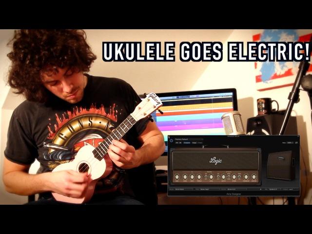 Ukulele Goes Electric! - Sweet Child O Mine Guitar Solo