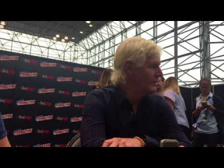 Interview with X Files' Chris Carter At New York Comic Con 2017