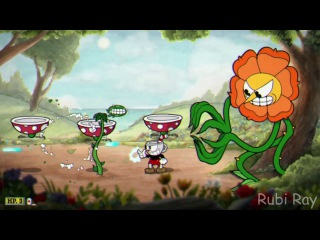 Cuphead - Floral Fury Boss EXTREME SERBIA STRONG!