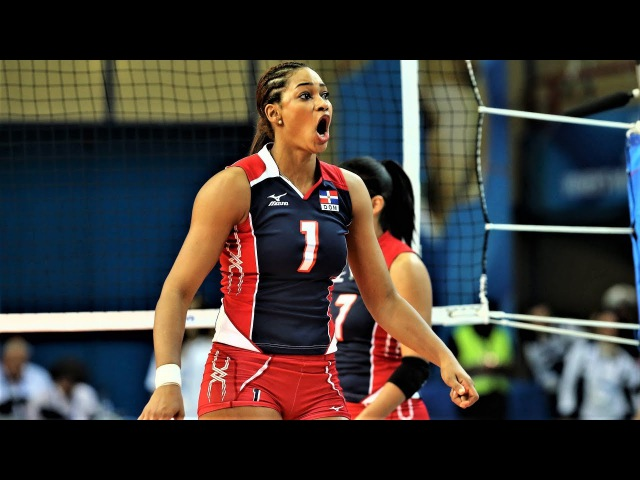 Top 10 Fantastic Volleyball SPIKES by Annerys Valdez (Vargas)   World Grand Prix 2017