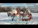 Студия Экспресс (Гурт Експресс) - Три белых коня (караоке)