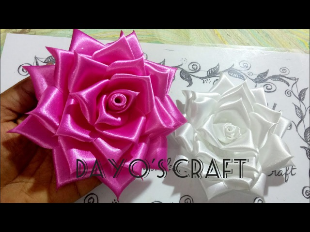 Fabric Roses - 7🌹🌹 full bloom../Flower Head band