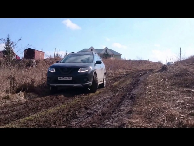 Nissan X-Trail T32 2015 off-road, поездка с клубом All-road.club