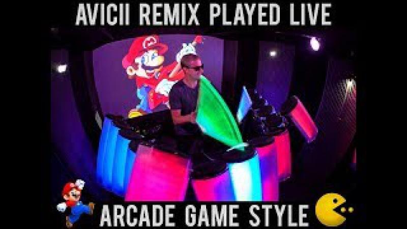 Avicii - Without You (AFISHAL Remix) ARCADE GAME STYLE