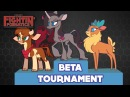 Winners and Losers Round 1 to Round 5 Them's Fightin' Herds Beta Tournament