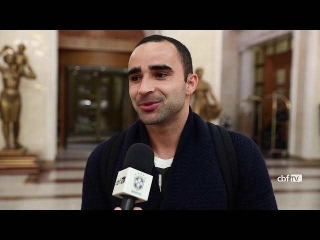 Ismaily se apresenta à Seleção Brasileira em Moscou