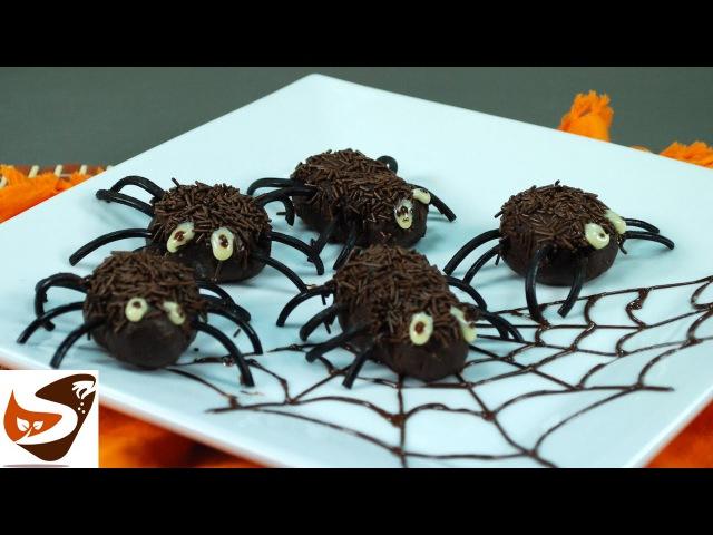 Dolci di Halloween: ragnetti per bambini - ricette dolci (Halloween candy recipes )