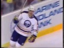Alex Mogilny finishes his first NHL hat trick vs Capitals (1991)