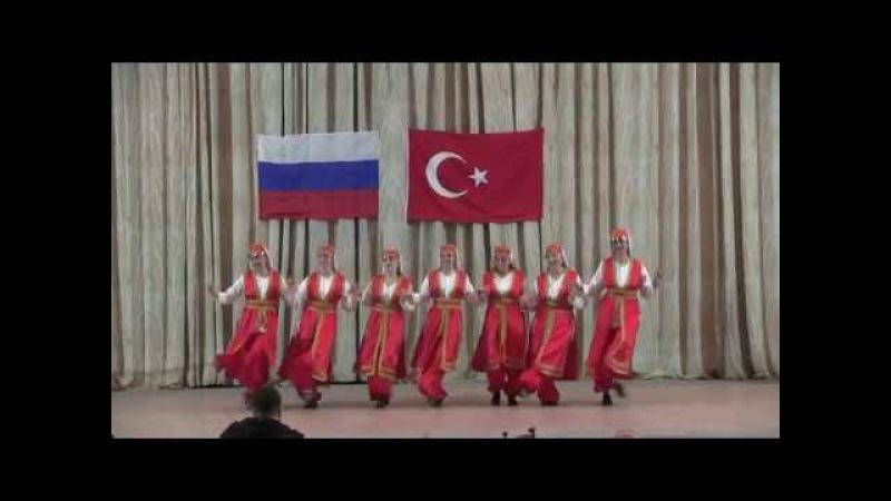 Türk dansı Horon-Leyla Doğu Dansları Stüdyosu_Турецкий танец «Хорон».Студия восточного танца